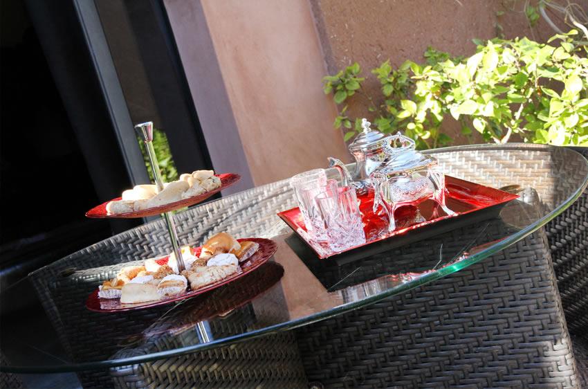 HOTEL PALMERAIE MARRAKECH DAR LAMIA, petit-déjeuner
