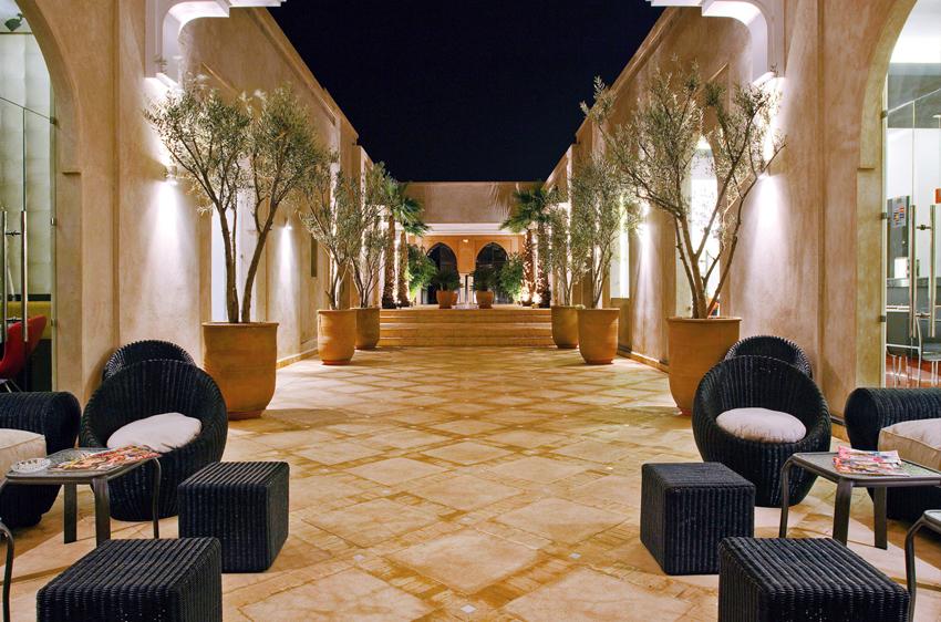 HOTEL PALMERAIE MARRAKECH DAR LAMIA, jardin