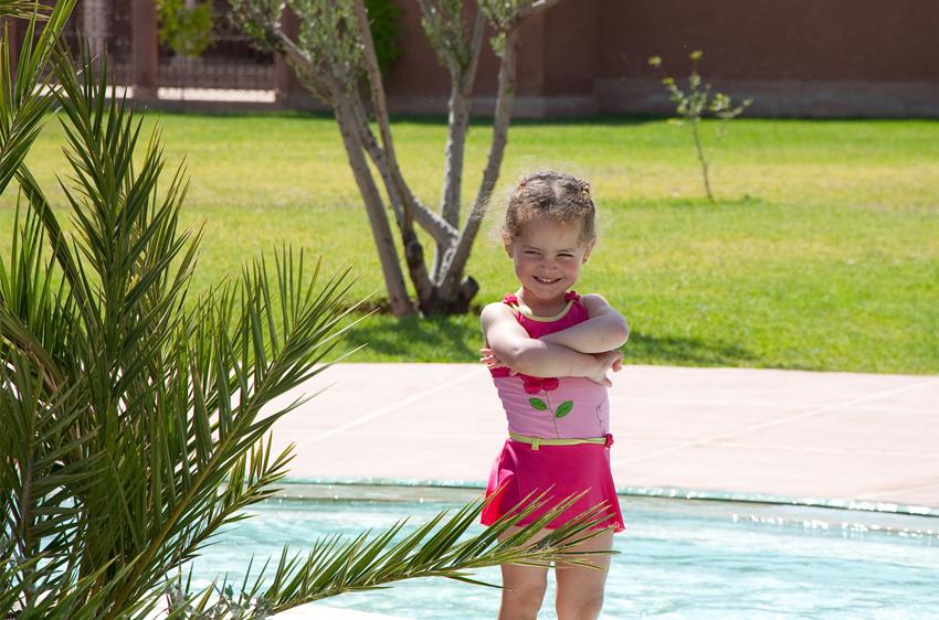 HOTEL PALMERAIE MARRAKECH DAR LAMIA, piscine pour enfant